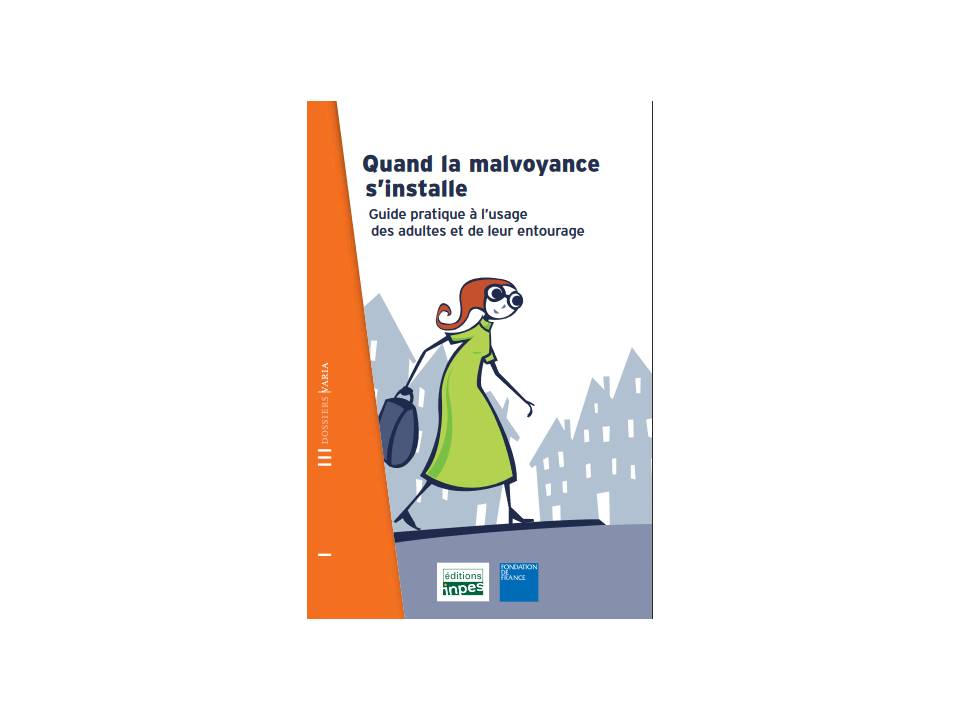 couverture document quand la malvoyance s'installe